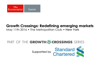 The Economist Growth Crossings, May 2016