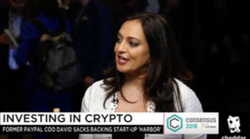 Interview with Jalak Jobanputra at Consensus 2018, Cheddar, September 2018